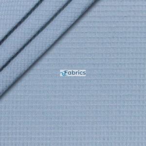 Waffle cotton fabric