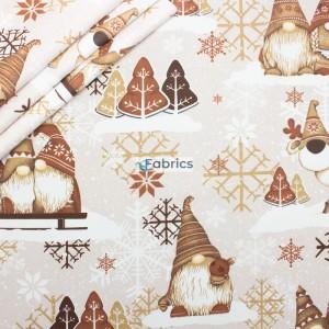 Cotton fabric Christmas