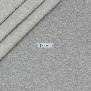 Brushed sweat fabric